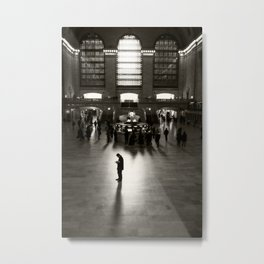 The Wait Metal Print
