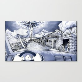 The Last 4 Seconds Of My Life Canvas Print