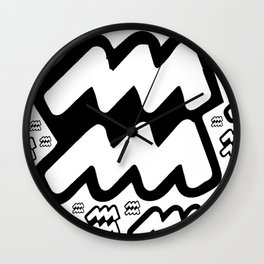 Dont Wave Wall Clock