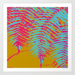 colorful tropics Art Print