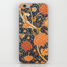 William Morris Cray Floral Art Nouveau Pattern iPhone Skin
