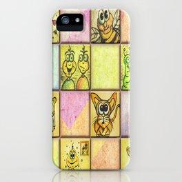 Lunchbox Napkin Art iPhone Case