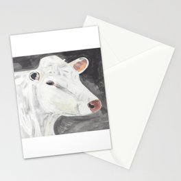 White Cow Stationery Cards