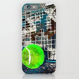Tennis art print work 15 iPhone Case
