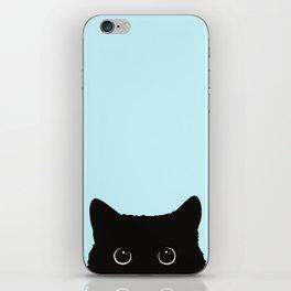 Black cat I iPhone Skin