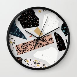 Terrazzo Art No.1 Wall Clock