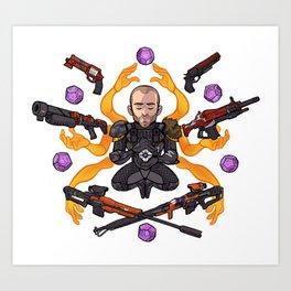 Pope RNG Art Print