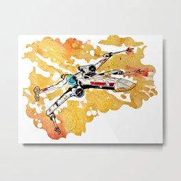 xwing Metal Print