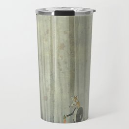 Fox and rabbit Travel Mug