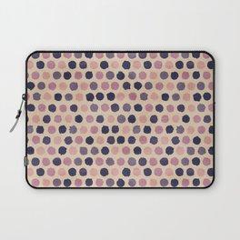 Watercolor funky retro pattern Laptop Sleeve