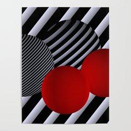 shining geometry Poster