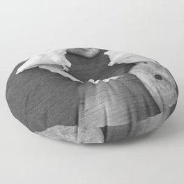 Haitian Seashells Floor Pillow