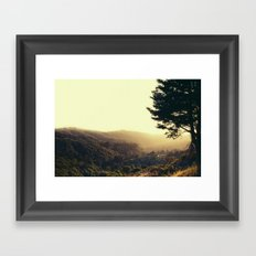 Morning in your Eyes Framed Art Print