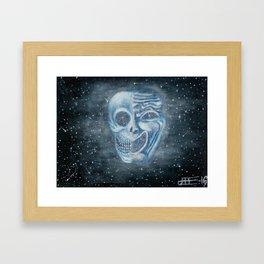 Tragicomedy Framed Art Print