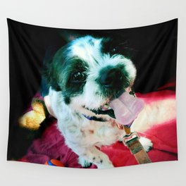 Happy Hound Wall Tapestry