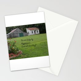 Do not Judge by Appearance... I am still standing! Stationery Cards
