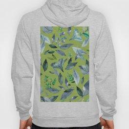 Watercolor fallen leaves 16 Hoody