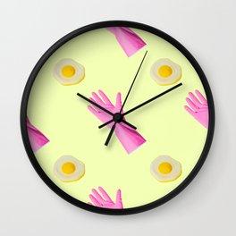 Pop Art Breakfast  Wall Clock