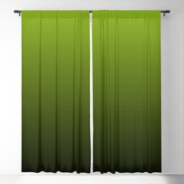 Ombre | Lime Green and Charcoal Grey Blackout Curtain