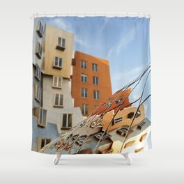 The Ray and Maria Stata Center Shower Curtain
