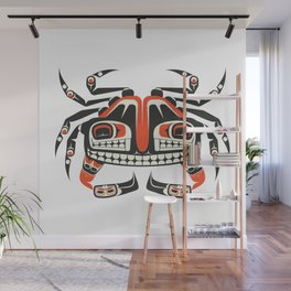 The Crab Wall Mural