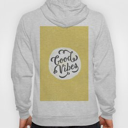 good vibes logo new art love cute 2018 2019 style yellow vibes beach new hot style fashion case cove Hoody
