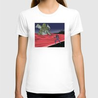 neon genesis evangelion T-shirts featuring Neon Genesis Elder God: End of EVA by CaptainSunshine