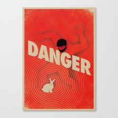 Danger Canvas Print