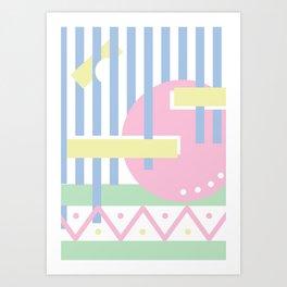Geometric Calendar - Day 49 Art Print