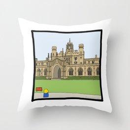 Cambridge struggles: St Johns Throw Pillow