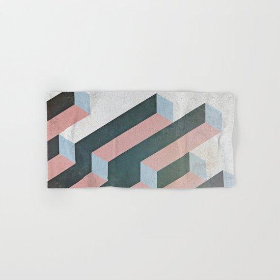 Linear Geometry Hand & Bath Towel