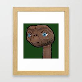 Contented ET Framed Art Print