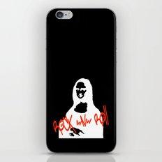 Mona Rock iPhone & iPod Skin