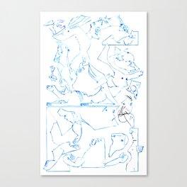 Tenants Upstairs Canvas Print