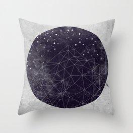 Geo Mountain Throw Pillow