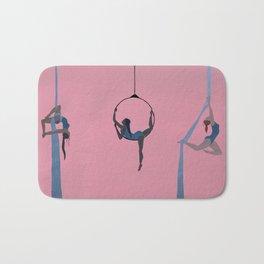 aerial dancing Bath Mat