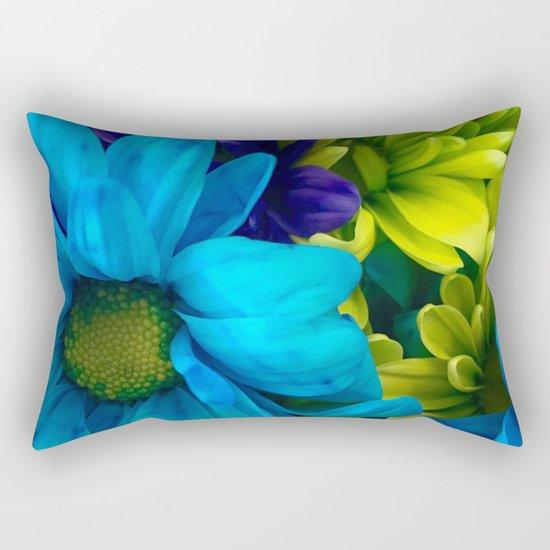 Shades of Flowers Rectangular Pillow