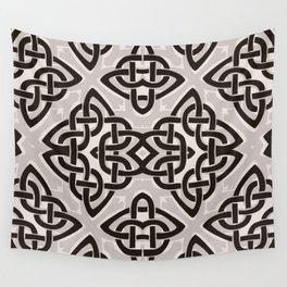 Kaleidoscope Celtic Knot Pattern Print Wall Tapestry