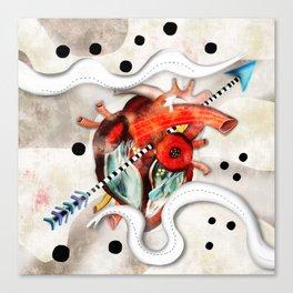 Sagado Corazón Canvas Print
