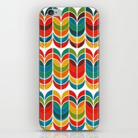 funky iPhone & iPod Skins featuring Tulip by Picomodi