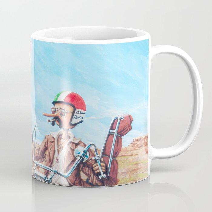 Pinocchio - Born to be wild Coffee Mug