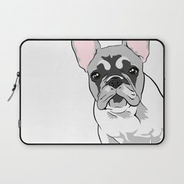 Jersey the French Bulldog Laptop Sleeve