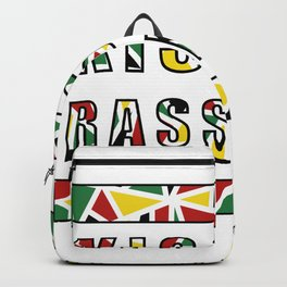 Guyana | Kiss Me Rasshole Backpack