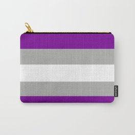 grey-asexual pride flag Carry-All Pouch