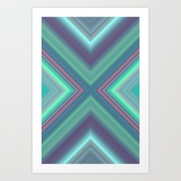 Underwater Emerald Art Print