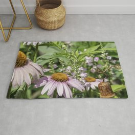 Dance of the Cone Flowers Rug