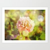 clover Art Prints featuring Clover by Magic Emilia