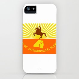 flag of Jacksonville iPhone Case