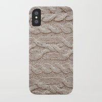 sweater iPhone & iPod Cases featuring sweater by shannonblue