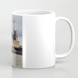 Battersea Power Station with Pink Floyd Pig Coffee Mug